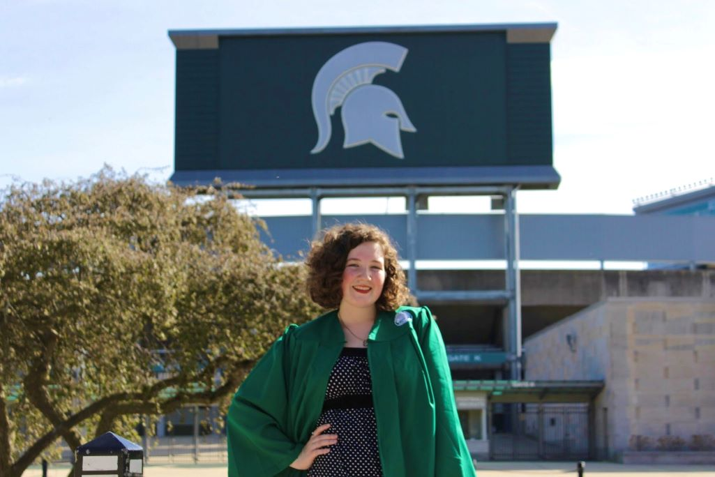English Graduate Receives College's Outstanding Senior Award
