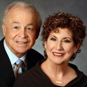 Portrait of older smiling couple
